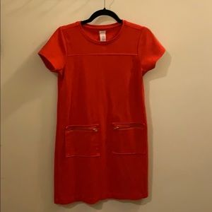 Crew cuts shift dress